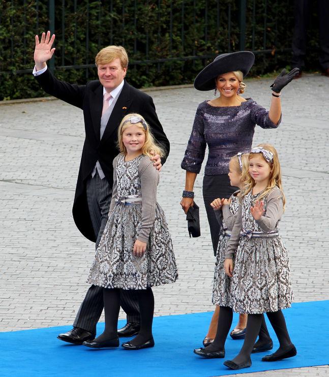 Willem Alexander, Maxima en kinderen