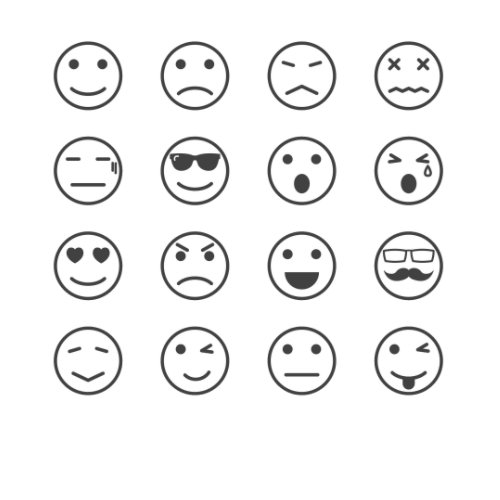 Betekenis emoticons